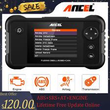 Automotive OBDII Code Reader ABS SRS Airbag Transmission Engine Diagnostic Tool