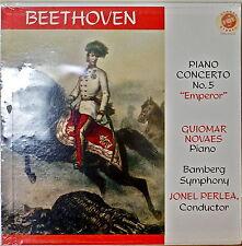 """BEETHOVEN: Piano Concerto No. 5, """"EMPEROR""""-SEALED1961LP GUIMAR NOVAES"""