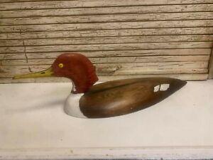 1985 Handmade Merganser Wood Duck Decoy