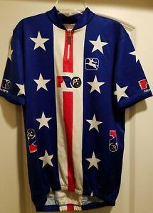 Giordana 1989 Team USA UCI Road World Championship Cycling Jersey - Greg Lemond