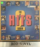THE HITS ALBUM 2 - 1985 UK DOUBLE VINYL LP IN G/F Sleeve  80s POP COMPILATION EX