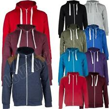 Fleece Hooded Unbranded Coats & Jackets for Men