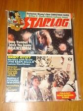 STARLOG #78 SCI-FI MAGAZINE JANUARY 1984 THE RIGHT STUFF BRAINSTORM