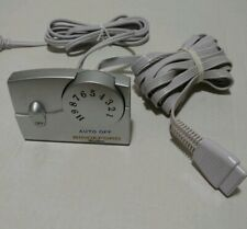 Biddeford Electric Blanket Heat Controller  TC11BA  Silver