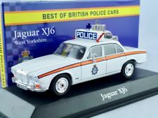 Jaguar XJ6  --       British POLICE Car   /    IXO / ATLAS   1:43