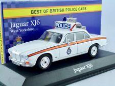 Jaguar XJ6  --       British POLICE Car   /    IXO / ATLAS   1:43