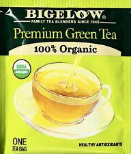 Bigelow Premium 100% Organic Chinese Green Tea, Individually Wrapped