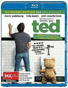 Ted Blu Ray - Extended Edition - Australian Release - FAST SAME / NEXT DAY POST