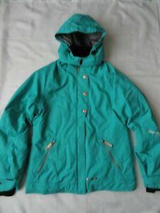 Obermeyer Teen Junior 18 Winter Ski Snowboard Jacket Size 18 Hooded