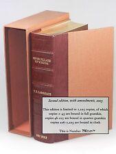 """T. E. Lawrence - Seven Pillars of Wisdom, Castle Hill 1/4 goatskin, """"Press Copy"""""""