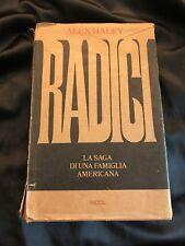 Libro Radici di Alex Haley Rizzoli Terza Edizione 1978