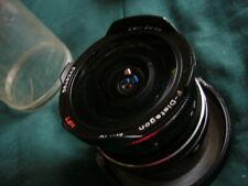 Carl Zeiss F-Distagon f/2.8 16mm HFT Rollei QBM Fisheye Lens for Leica R