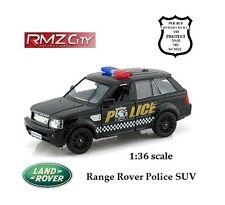 "RMZ - 2012 Land Rover Range Rover Sport - Police SUV  1:36 scale  5"" # 555007P"