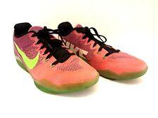 🔥 Nike Kobe XI Zoom 11 Elite Low Mambacurial Pink Green 836183-635 Men's Size 9