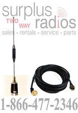DUAL BAND HAM UHF VHF HIGH GAIN ANTENNA KIT KENWOOD ICOM V800 TM-V71A YAESU
