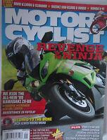 Motorcyclist Magazine January 2009 Revenge of the Ninja Star V-Star 950 Kawasaki