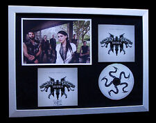 WITHIN TEMPTATION+SIGNED+FRAMED+HYDRA+PARADISE=100% GENUINE+EXPRESS GLOBAL SHIP