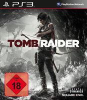 PS3 / Sony Playstation 3 Spiel - Tomb Raider (mit OVP) (USK18) (PAL)
