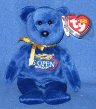 TY TOPSPIN the US OPEN BEAR BEANIE BABY - MINT with MINT TAG