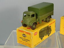 DINKY TOYS MODEL  No 623 BEDFORD QL ARMY  COVERED WAGON    VN  MIB