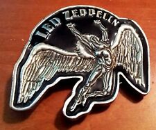 "Awesome! Collectible 3"" Led Zpepplin Rock Music Belt Buckle Pewter Myth Gem 2005"