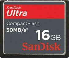 SanDisk 16GB 30MB/S Compact Flash Ultra CF Card 16GB SDCFH-016G F/ Canon Nikon
