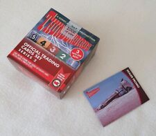 Unstoppable Cards Thunderbirds Series 2 Factory Sealed Box & Promo