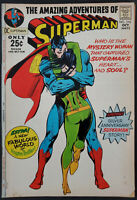 Superman #243 FN/VF 7.0 Classic Neal Adams Cover DC Comics Bronze Age 1971