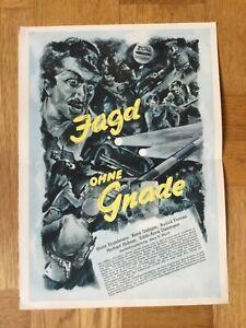 Jagd ohne Gnade (Kleinplakat '39) - Heinz Engelmann / René Deltgen / UFA