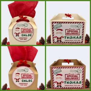 Personalised Christmas Gift Box Special Delivery Xmas Small/Large Present Box