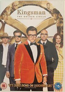 Kingsman: The Golden Circle New Sealed DVD