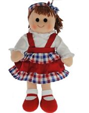 Hopscotch Childs Toy Rag doll woollen hair soft body ragdoll Mackenzie