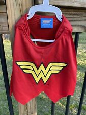 NWT Justice League Wonder Woman Dog Harness Costume Size S Small Puppy DC Comics