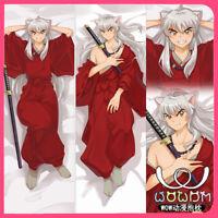 "Dakimakura Body Pillow Case Cover Anime Inuyasha Sesshoumaru Double Sided 59"""