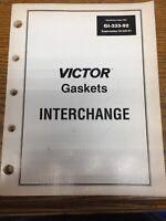 Vintage 1991 Victor Gasket Interchange Parts Catalog