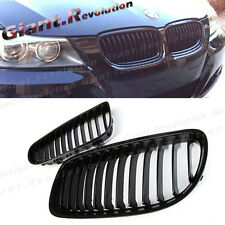 Tune to BW 2009-2011 E90 E91 LCI 3-series 328i 335d Gloss Black Front Grille Set