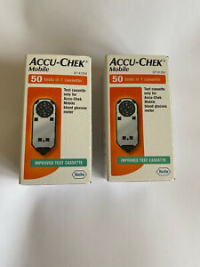 Accu-Chek Mobile Cassettes - Packs 2 of 50 Tests