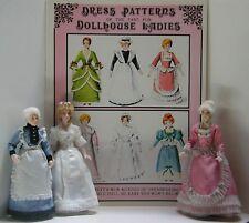 Doreen Sinnett Miniature Dress Pattern Book, signed softcover