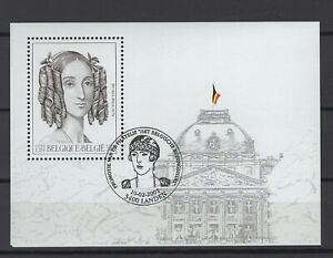 BELGIUM 2001 Queen Louisa-Marie fine used BLOK 88