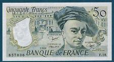 FRANCE - 50 FRANCS QUENTIN DE LA TOUR Fayette n°67.6 de 1980 en NEUF F.18 857036