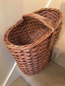 Chairworks Wicker Woven Stair Basket Quality Home Stairs Storage **BRAND NEW**