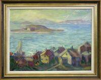 Gustav Grafström (Sweden Sverige) 1886) » Bohuslän - Sommerküste« Coast