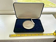 Pearl Harbor 50th Anniversary (1) One Pound .999 Silver Round USS Arizona Medal