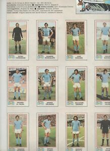 NAPOLI CALCIO 1974-75...SQUADRA..JULIANO,CLERICI,BRAGLIA..CALCIO...SOCCER