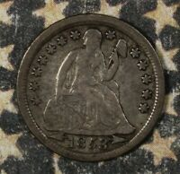 1853 SEATED LIBERTY DIME WITH ARROWS COLLECTOR COIN, FREE SHIPPING