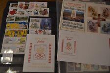 MONACO Année 1999 42 timbres neufs ** + 5 blocs neufs **  + 2 lettres