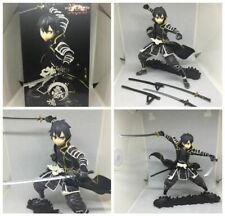 SAO Sword Art Online Action Figure Kirito Anime Figurine Collection In Box Toy