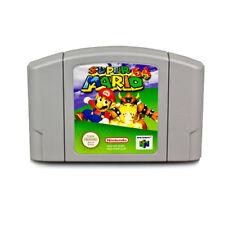 N64 Gioco Super Mario 64 + Istruzioni Originali per Gioco Super Mario 64