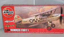 AIRFIX MODEL KIT A04103 HAWKER FURY I AIRCRAFT  1:48 HORNBY ROYAL AIR FORCE