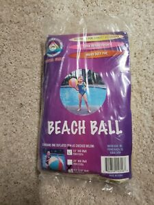"Vintage 42"" Jumbo Inflatable Beach Ball"